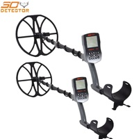 T90 Professional waterproof metal detector underground gold metal detector with wireless headphones and 12 inch search coil