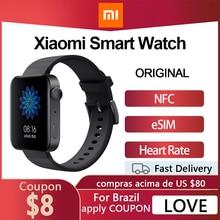 Xiaomi Watch MI Smart Watch GPS NFC WIFI ESIM telefonata Android orologio da polso risposta Bluetooth Fitness cardiofrequenzimetro Tracker