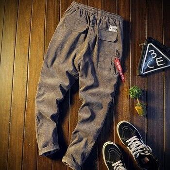 Pantalones largos populares para hombre, ropa informal a la moda, para otoño e invierno, MW44, venta al por mayor, 2019 1