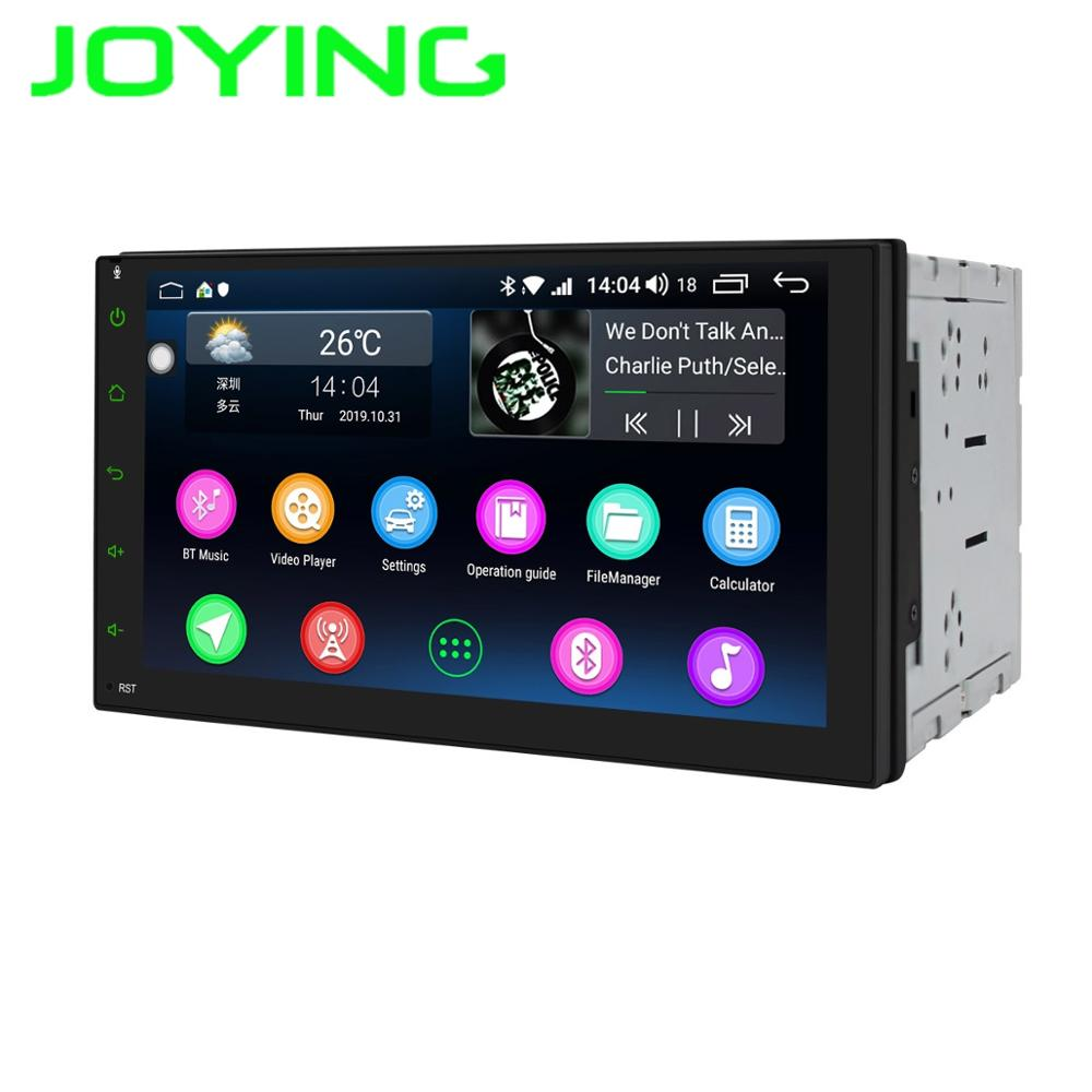 """JOYING Double 2 Din AM//FM Player Car Radio Stereo 7/"""" HD Touchscreen Android 8.1"""