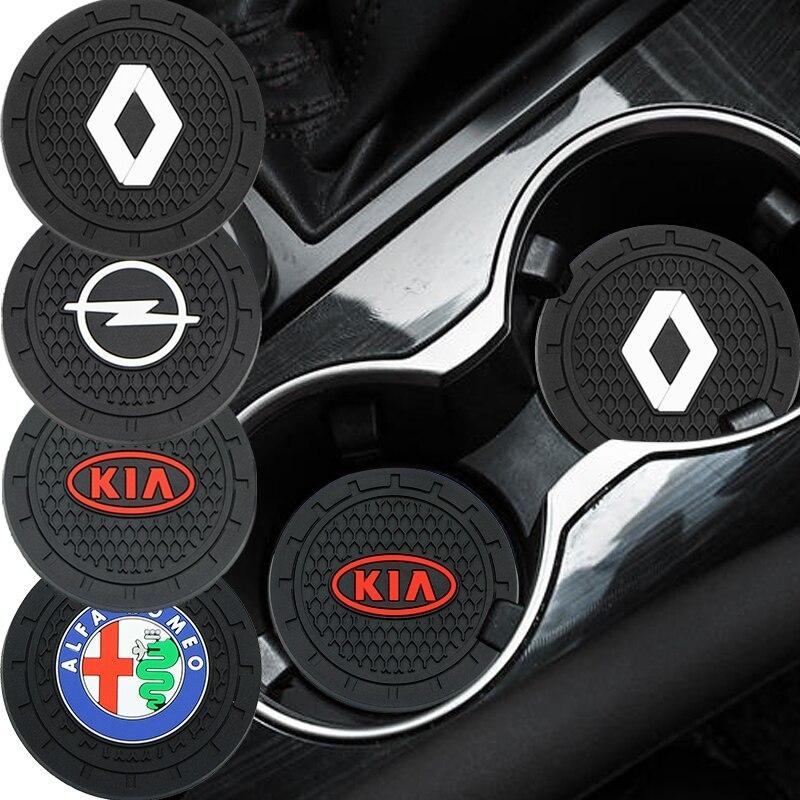 1 шт., автомобильный нескользящий коврик для подстаканника BMW M F10 E90 E60 F30 E89 E85 E91 E92 X1 X3 X4 X5 X6 1 3 5 7