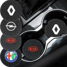 1pcs Car anti-slip pad Mat Suporte de Copo Garrafa Pad Para Audi TT B8 A1 A3 A4 B5 B6 B7 A5 A6 C5 C6 C7 A7 A8 D3 D4 Q3 42 Q5 8U Q7 4L