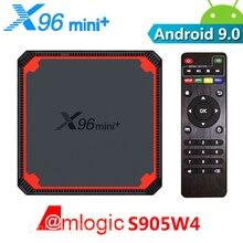 Set-Top-Box Smart Android X96 Mini Amlogic Wifi S905W4 PLUS 4K 5G 8GB 1GB HD 2GB-RAM