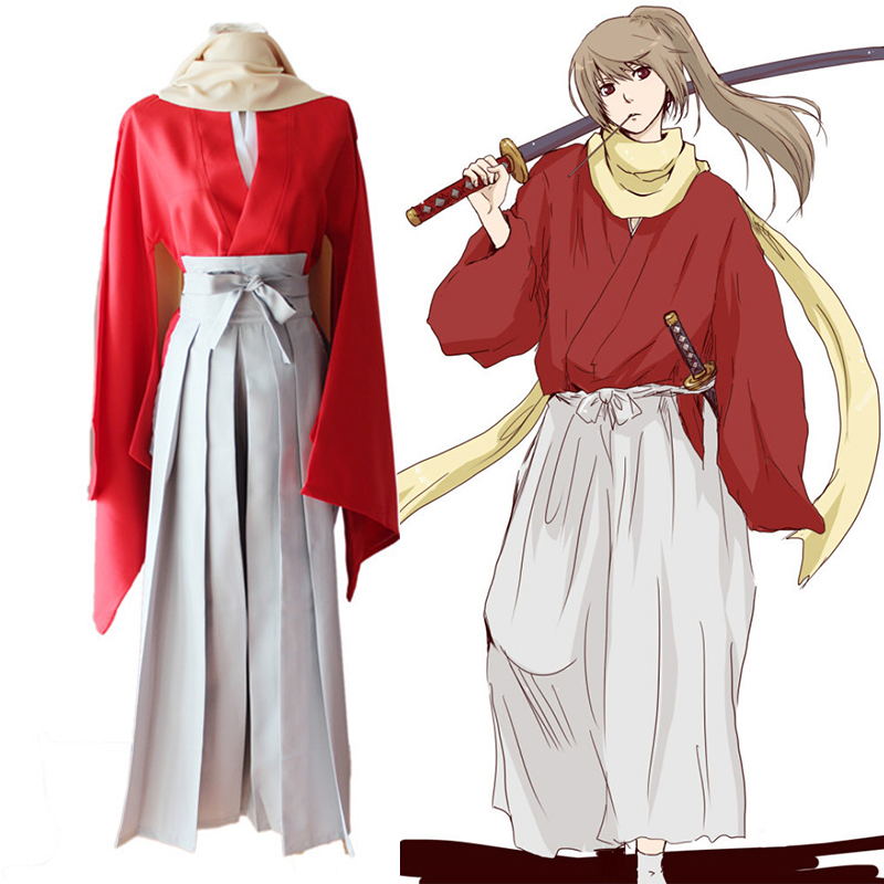 Anime Gintama Cosplay Costumes Sougo Okita Costume Kimono Halloween Carnival Party Silver Soul