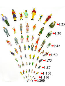 Model-Scale Train Architectural People Layout 100pcs Can-Choose-Toys The-Collection