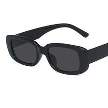 2020 Square Lady Sunglasses Luxury Brand Travel Small Rectangle Sun Glasses Men and Women Eyeglasses Vintage Retro cheap yueyaolao CN(Origin) Adult Polycarbonate NONE UV400 40mm Eyewear 66mm