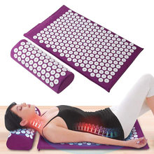 Acupressure Mat Massage-Mat Applicator Lotus-Spike Kuznetsov Bag Relieve Back-Body