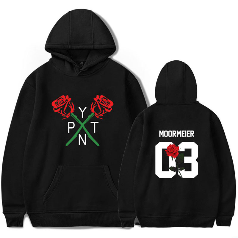 Notícias 2020 payton moormeier merch hoodie feminino impressão social estrelas hoodies calças conjunto engraçado tshire topos unissex agasalho
