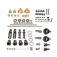 For WPL RC Car B1 B14 B24 C14 C24 1/16 4WD Military Truck Cars Spare Part Set Upgrade Metal OP Accessory