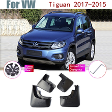 Автомобильный брызговик крыло над крыло для VW Tiguan MK1 AD1 5NMud закрылки брызговик ЛОСКУТ брызговик Accessories2007-2015