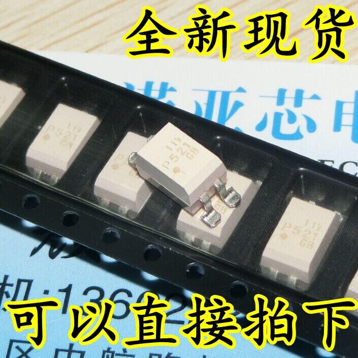 10pcs/lot New TLP521-1GB TLP521-1 P521 SOP-4 Patch Optocoupler