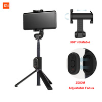 Xiaomi monopiede Mi Selfie Stick treppiede compatibile con Bluetooth con telecomando Wireless 360 rotazione versione flessibile/Zoom Android IOS