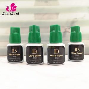 Image 3 - 10 bottles/lot IB Ultra super Glue Individual 1 2s fast drying eyelash extensions glue green cap  long lasting 6 weeks