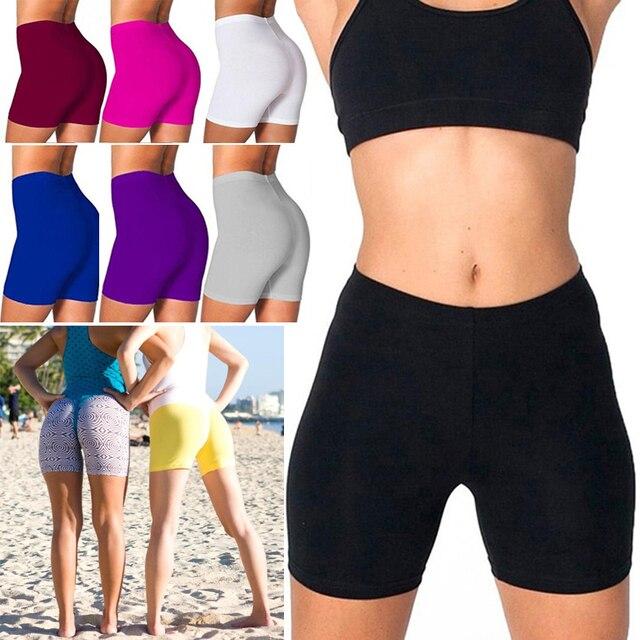 Summer Thin Fitness Shorts Push Up Women Sexy Gym Biker Shorts Short Feminino Leggings Workout Clothing Shorts Sweatpants 1