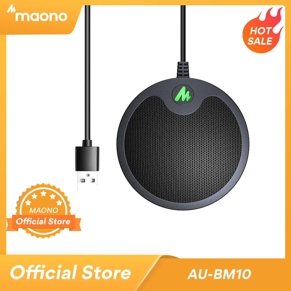 Конденсаторный микрофон MAONO BM10, USB-микрофон для конденсатора, подключи и играй, для игр и Youtube