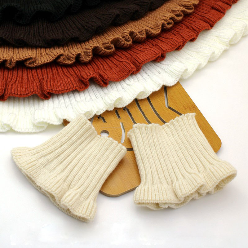 1 Piece Cotton Knitted Rib Fabric Stretchy Cuff Collar Bottom Hem for Sweatshirt Down Jacket DIY Clothing Sewing Accessories