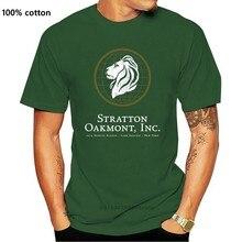 Stratton Oakmont a. Ş. T-Shirt % 100% pamuk kurt Wall Street Inspired S-5X 2020 Unisex Tee