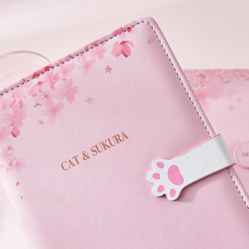 Image 5 - A5 Agenda 2019 2020 Schedule Planner Organizer Creative Kawaii Password Notebook with Lock Girl Diary Notebook Bullet Journal-in Notebooks from Office & School Supplies