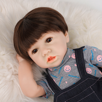 22 Reborn Baby Doll Toy Full Silicone Body LifeLike Real Newborn Doll With Crooked Mouth Bonecas Girl Toys For Kids Gift 55cm lifelike boneca reborn baby doll soft real touch full silicone toys for children birthday gift crooked mouth doll kids