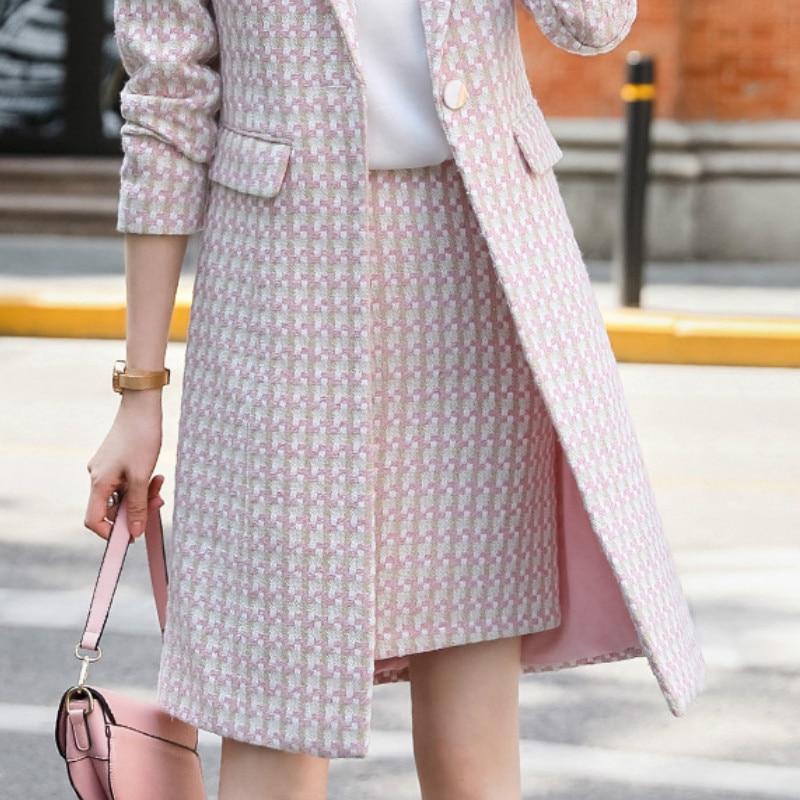 S 4XL размера плюс, женские офисные туфли, юбка осень зима плед узкое платье юбка с завышенной талией для девочек, высокого качества, элегантная обувь юбкой в стиле хип хоп Юбки    АлиЭкспресс