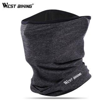 WEST BIKING Summer Sports Scarf Ice Silk Bike Headwear Anti-UV Breathable Running Bandana Protection Cycling Equipment