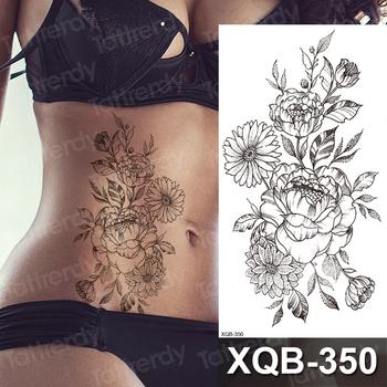 Tatuaż naklejki kobiety daisy słonecznik róża kwiaty piwonii szkic tatuaż wzory tymczasowe wodoodporne tatuaże zwierzęta tatuaże do ciała tanie i dobre opinie Tattrendy Jedna jednostka CN (pochodzenie) 210mm * 114mm Zmywalny tatuaż Arm sleeve tattoo Waterproof Once eco-friendly nontoxic