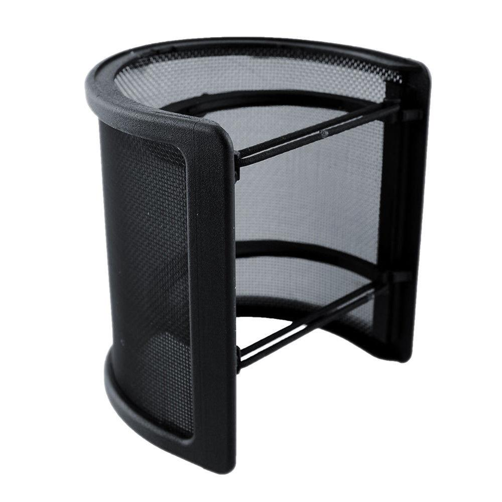 Professional U Shape Double Layer Recording Studio Microphone Windscreen Pop Filter Mask Shield Cover Studio Windscreen 1