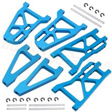Aluminum Alloy Suspension Arms Set Replacement 513006 513007 513008 For FS Racing 1/10 Scale Monster Truck Bigfoot Upgrade Parts