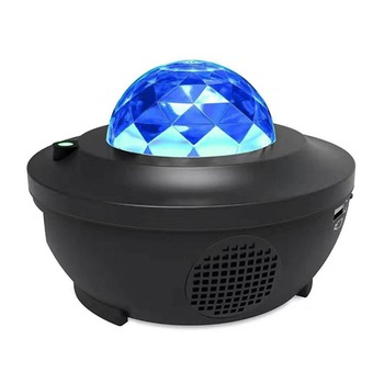 Colorful Starry Sky  Night Light LED Projector Bluetooth USB Voice Control Music Player Birthday Gift Romantic Projection Lamp tanbaby led colorful rainbow novelty kids night light romantic sky led projector lamp luminaria home party birthday gift dmx dj