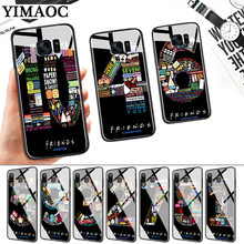 friends numbers Glass Case for Samsung S7 Edge S8 S9 S10 Plus S10E Note 8 9 10 A10 A30 A40 A50 A60 A70 стоимость