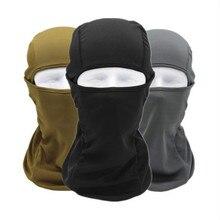 Мотоциклетная Балаклава, маска для лица, теплая, ветрозащитная, дышащая, для страйкбола, пейнтбола, велоспорта, лыж, байкера, защита от ультрафиолета, мужской шлем