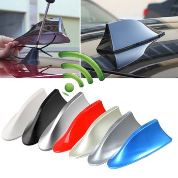 Universal Car Shark Antenna Auto Exterior Roof Fin Signal Protective Aerial Styling