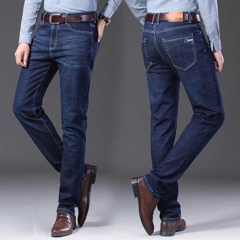 Mannen Jeans Jean Homme Denim Spijkerbroeken Heren Broek Biker Stretch Slim Fit Broek Casual Masculina Pantalon Vaquero Jogger