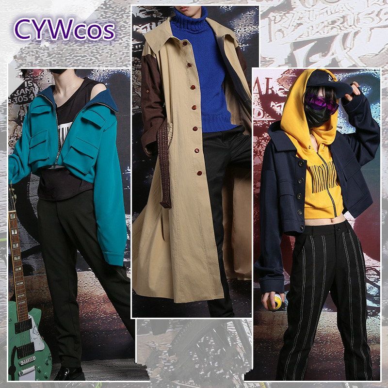Stray Dogs Dazai Osamu Ryunosuke Akutagawa Nakahara Chuya Spoon.2Di 49 Magazine Cover Cosplay Costume Daily Man Outfits