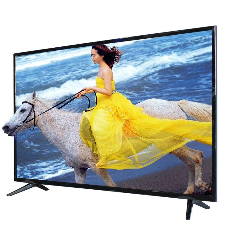 Tailles de moniteur de 55 pouces version grobal youtube TV android OS 7.1.1 smart wifi internet LED 4K télévision