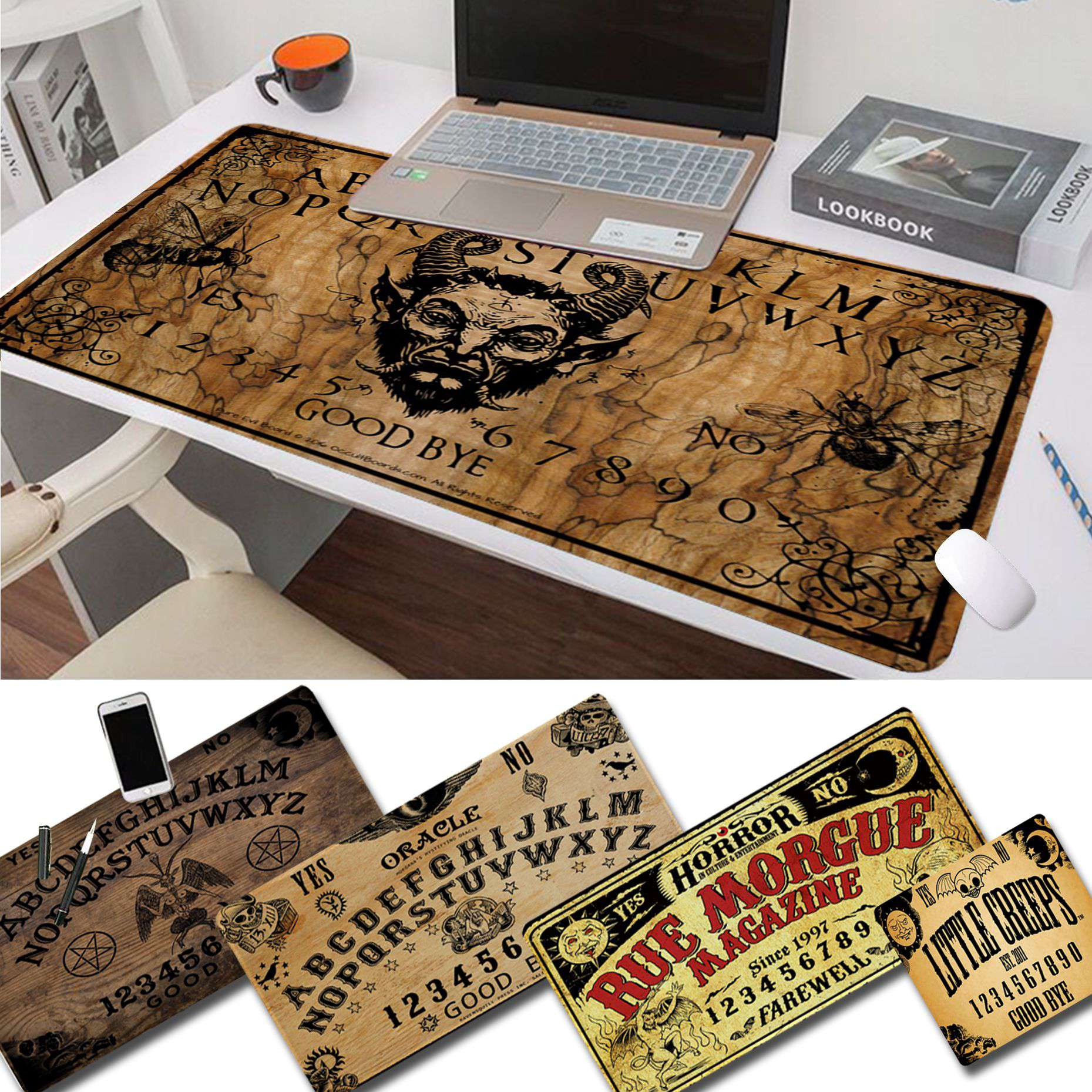 Maiya Cool Ouija Board happy birthday Gamer Speed Mice Retail Small Rubber Mousepad Free Shipping Large Mouse Pad Keyboards Mat