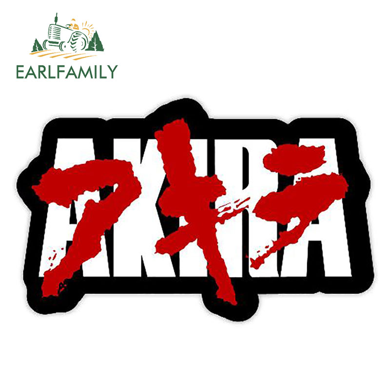 EARLFAMILY 13cm X 8.2cm AKIRA Stickers Funny Auto Sticker Decals Car Styling Sticker Motorcycle Car Decal Accessories