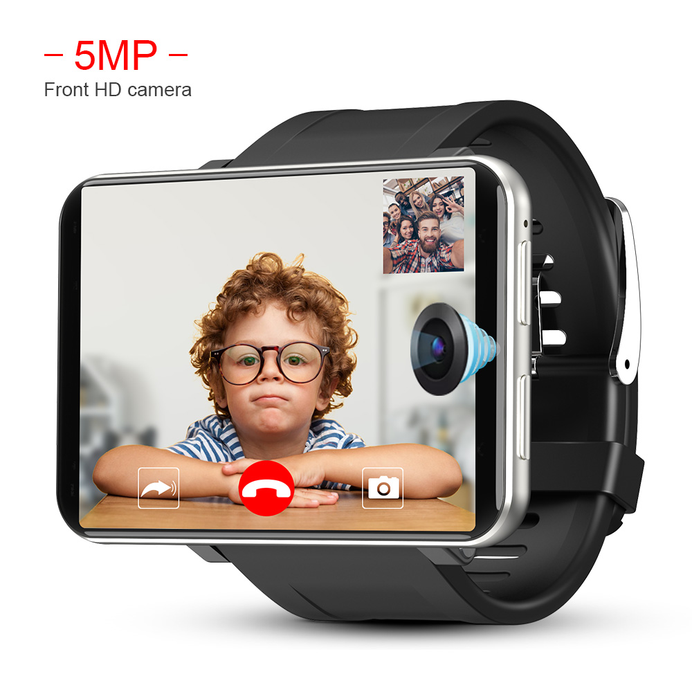 Image 3 - LEMFO LEM T 4G 2.86 Inch Screen Smart Watch Android 7.1 3GB 32GB 5MP Camera 480*640 Resolution 2700mah Battery Smartwatch Men-in Smart Watches from Consumer Electronics