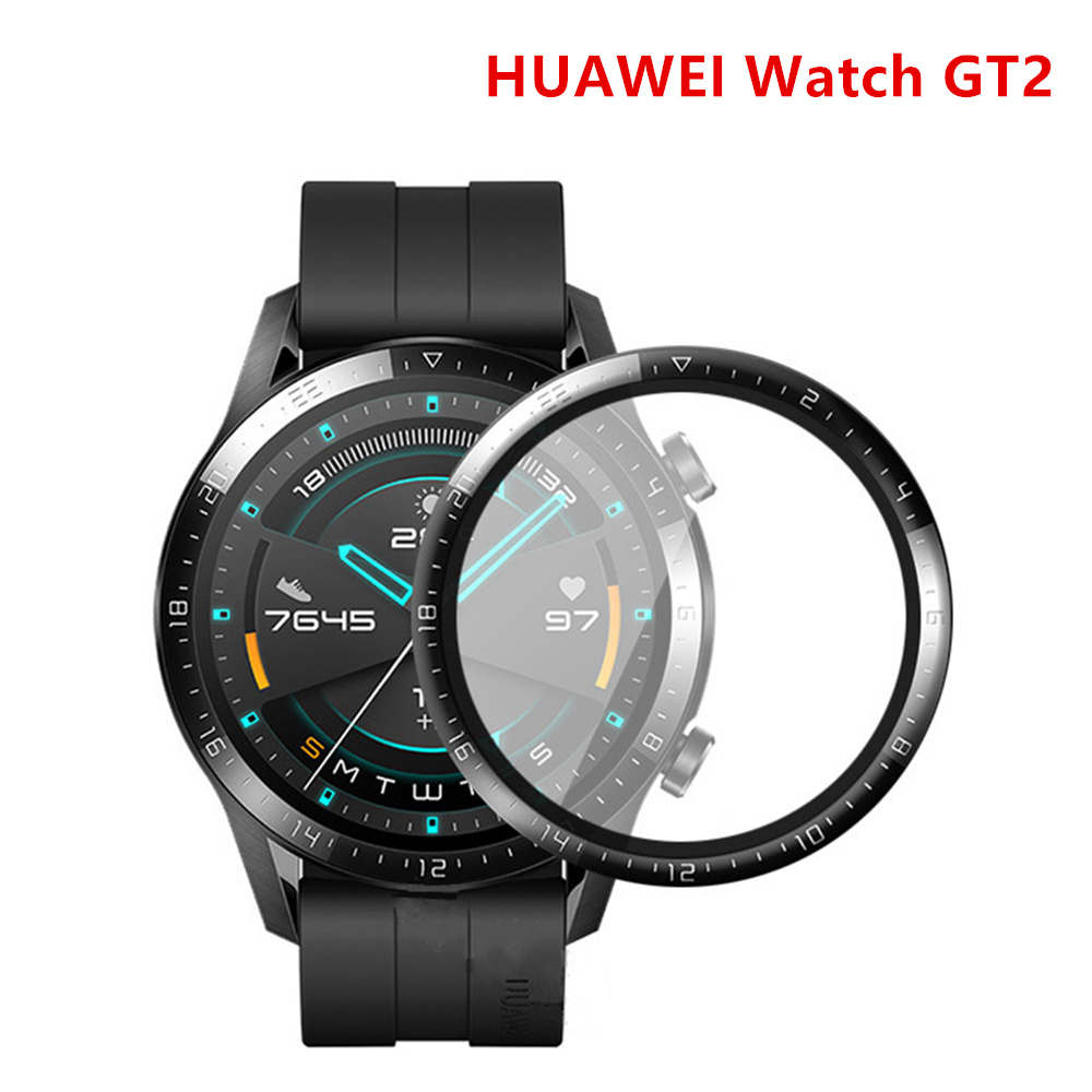 Tempered Glass For HUAWEI Watch GT 2 Screen Protector 42/46 Mm Polymer Full Protective Film HUAWEI Watch GT2/2e 46mm/42mm