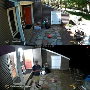 Image 3 - Movols 1080P 8CH DVR CCTV מצלמה מערכת 4PCS צבעוני 4PCS IR ראיית לילה מצלמת אבטחת Ir עמיד למים וידאו מעקב סט