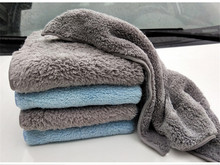 3pcs Microfiber cleaning cloth for car soft 40*40cm rag  Super absorbent towels Home polishing and waxing