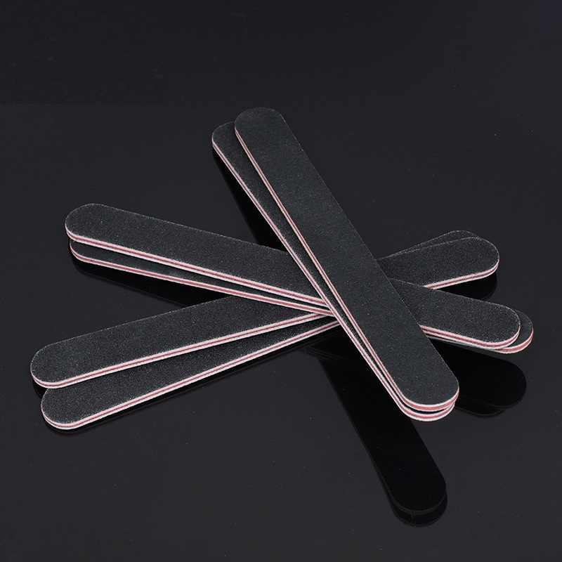2 pcs/par leathercraft acessórios novo diy dupla face lixando tiras de couro polido lado mão fina-couro polimento unhas