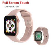 F10 iwo 10 lite Smart Uhr Männer Frauen 1,54 zoll Herz-Monitor-Sport Aktivität Tracker Smartwatches für Android IOS