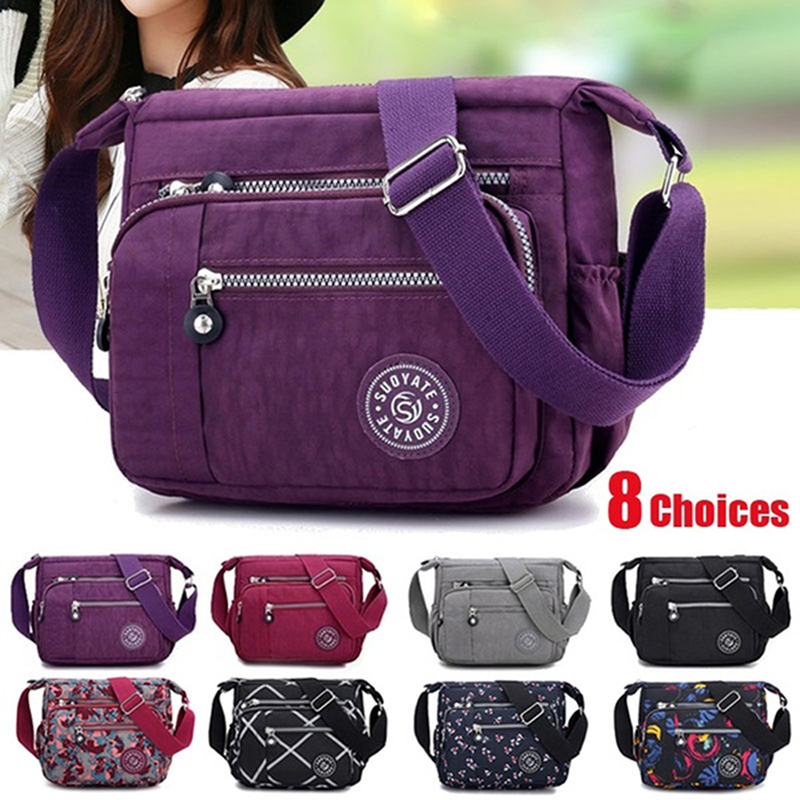 Hot Sale Women Handbags Messenger Bag Waterproof Cloth Bag Good Quality Diagonal Bag Shoulder Bag And Collect Wallet