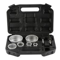 9Pcs/set 22MM 28MM 35MM 44MM 67MM 73MM For Tile Ceramic Marble Glass Diamond Coated Hole Saw Drill Bit Tool Set|Sheet Metal Tools Set| |  -
