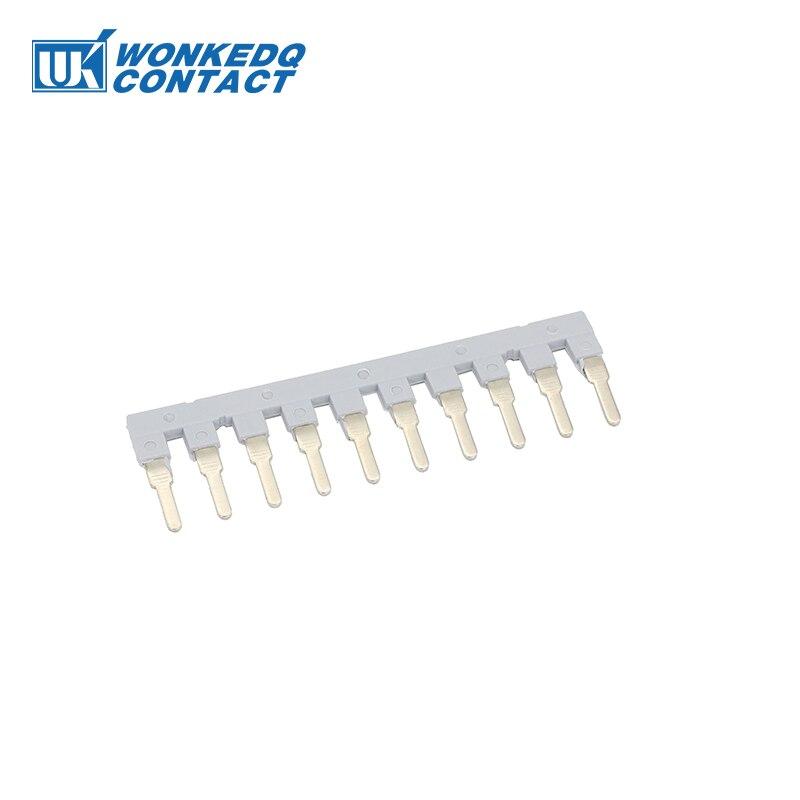 Insertion Bridge EB10-10 Type For  UK-10N DIN Rail Terminal Blocks Accessories