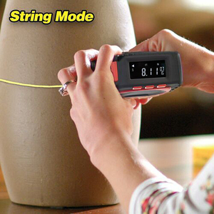 Image 5 - Laser entfernungsmesser Digital Band Multifunktionale 3 in 1 Messung Werkzeug Laser Level Laser Range Finder LCD Digital Display