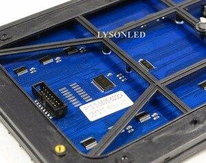 Image 4 - משלוח חינם P13.33 חיצוני SMD מלא צבע LED מודול 24x12 נקודות חלון פרסום מקורה גלילה סימן לוח