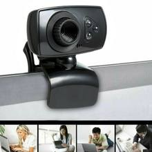2020 NEW Full HD Net Class Teaching webcams 50MP Webcam USB 3 LED Video Camera with Microphone for PC Laptop Clip-on(China)
