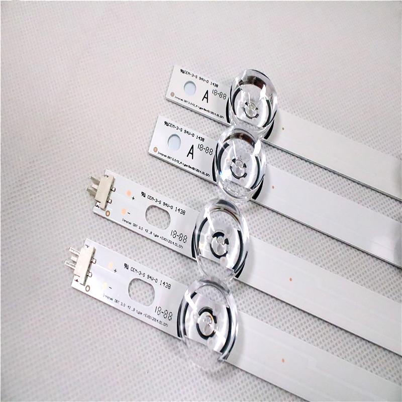 2-8 шт./лот (4 * A + 4 * B) Светодиодный индикатор подсветки для LG INNOTEK DRT 3,0 42